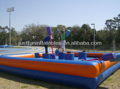 amazing 4 post inflatable joust arena games for adult