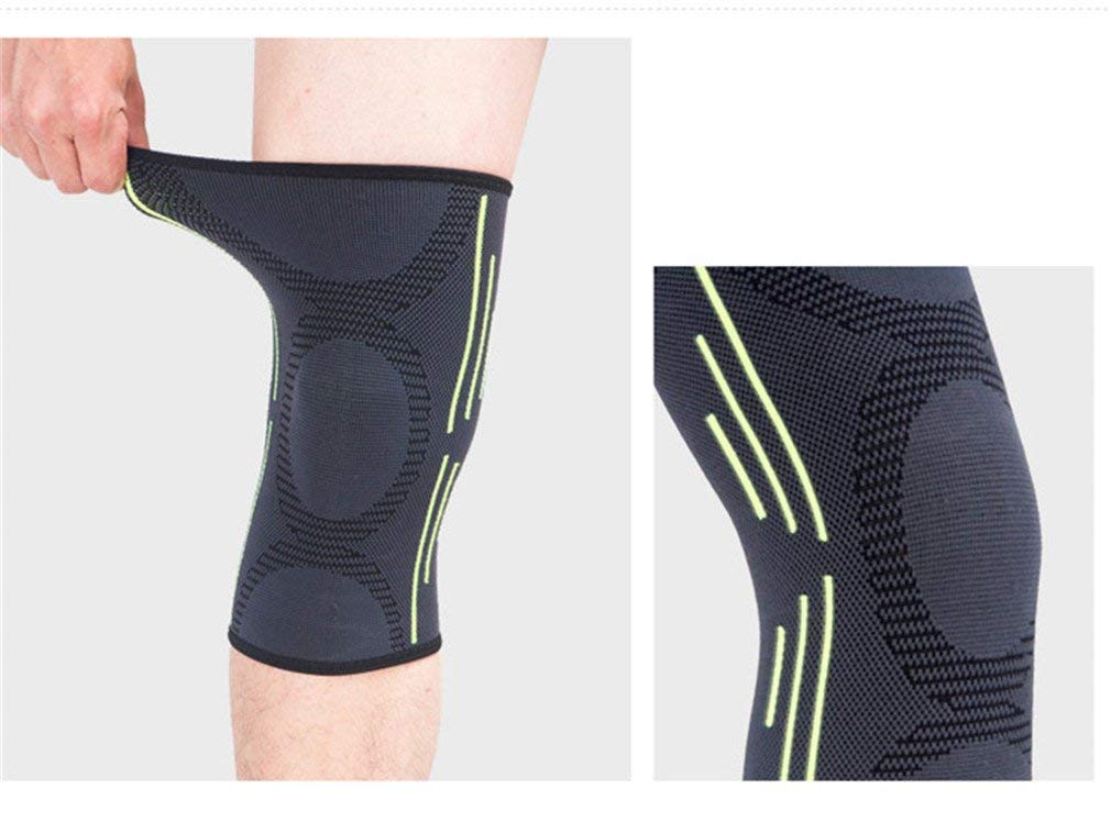 14e712b352 Get Quotations · HQGB Basketball Sports Safety Football Kneepad Basketball  Knee Pads Sport Accessorie Elastic Knee Protector Protection Knee