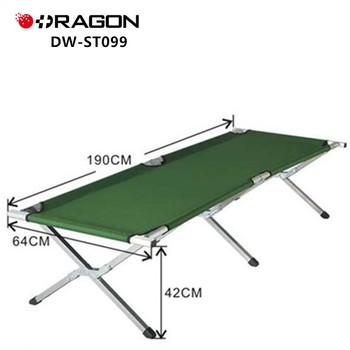 DW-ST099 Aluminum alloy military camping bed foldable