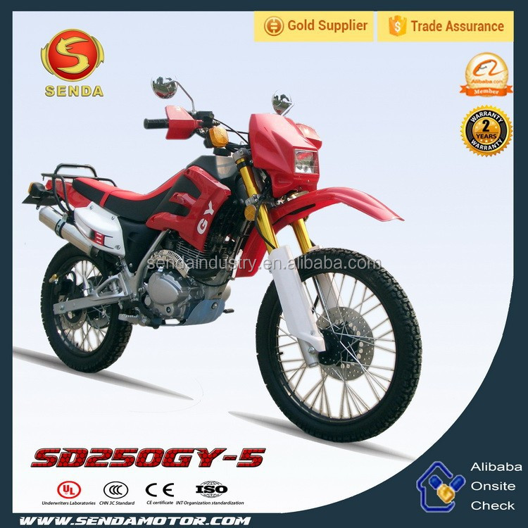 Classical 250CC dirt bike motorcycle SD250GY-5