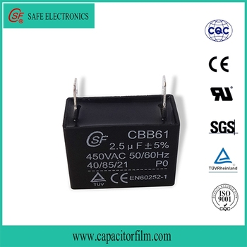 For Ceiling Fan Capacitor 2 Wire 2uf Capacitor Cbb61 - Buy High ...