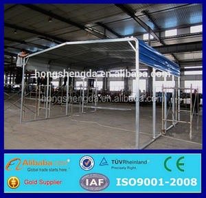 Unique and innovative ideas steel structure color plate shed