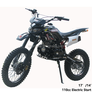 110cc 4 Stroke Adult Racing Pit bike With Front&Tail Lamp