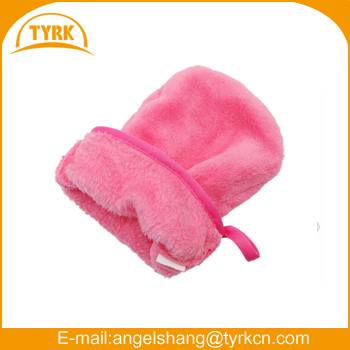 2017 new arrival microfiber remove magic Makeup gloves