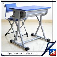 MK combo school desk and chair, school desk with attached chair, modern school desk and chair