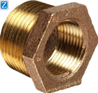 Precision machining brass pipe fitting