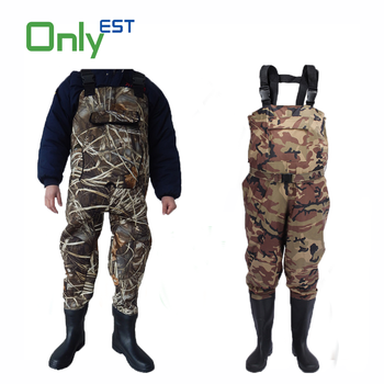 Waterproof warm keeping breathable neoprene chest waders