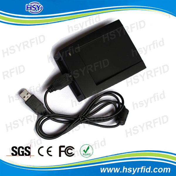 lf 125KHZ or hf 13.56MHZ computer rfid usb card reader for access control system
