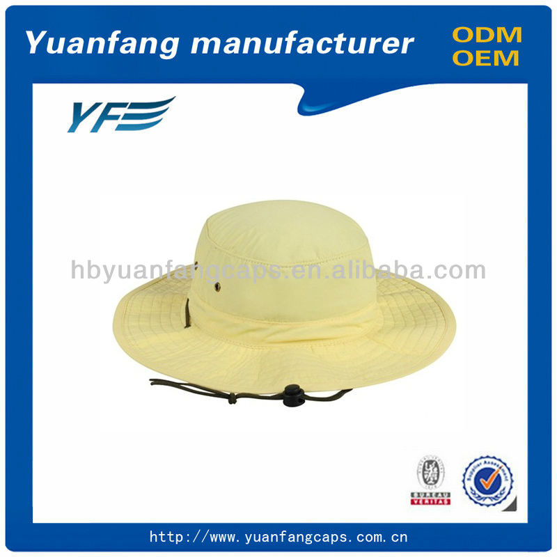 Surf with string cool bucket hat
