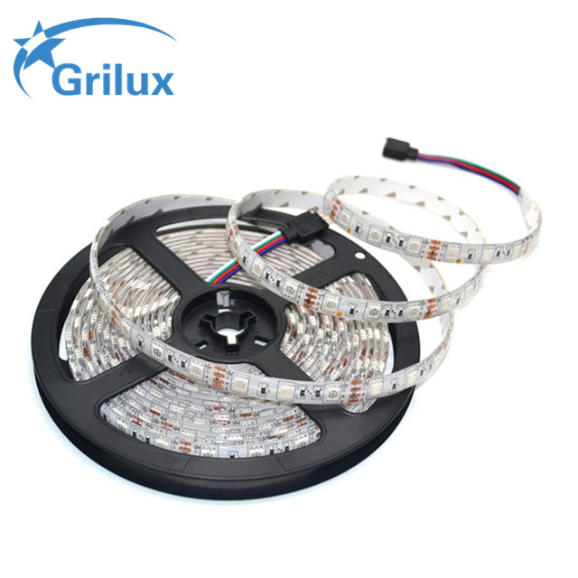 Free Sample 5050smd high cri smd 2835 dc12v rigid ip65 smd3528 led strip 120led for decoration