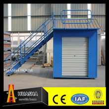 Small mobile steel bar storage warehouse