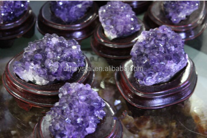 amethyst cluster decorative cluster