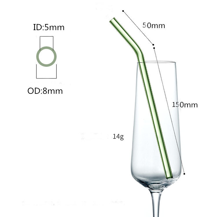 12 Năm Nhà Máy Miễn Phí Mẫu Chất Lượng Cao Thiết Kế Mới Glass Uống Rơm