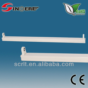 SF118H T8 fluorescent tube lighting fixture t8 fluorescent open channel