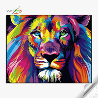 40*50 abstract tiger paintings of tiger and window table picture design home decoration