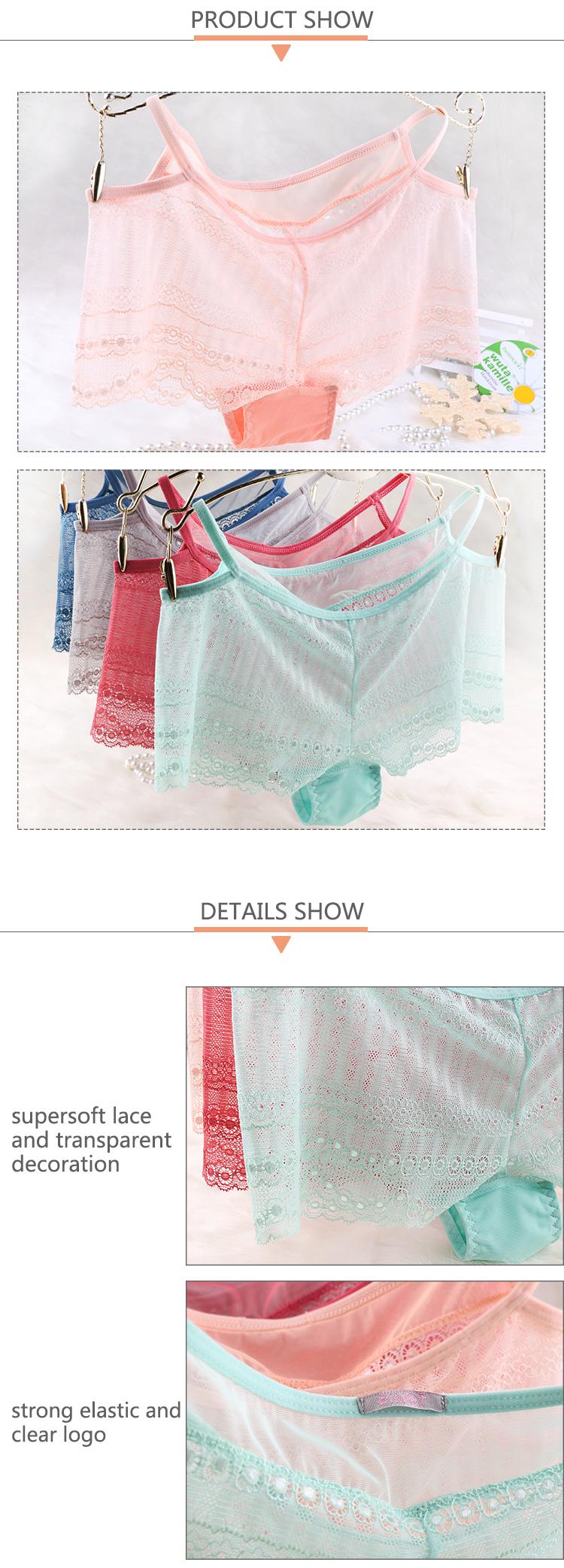 3bd67fab0 Senhoras por atacado colorido rendas boyshort calcinhas mulheres briefs  sexo quente modal roupas íntimas femininas.