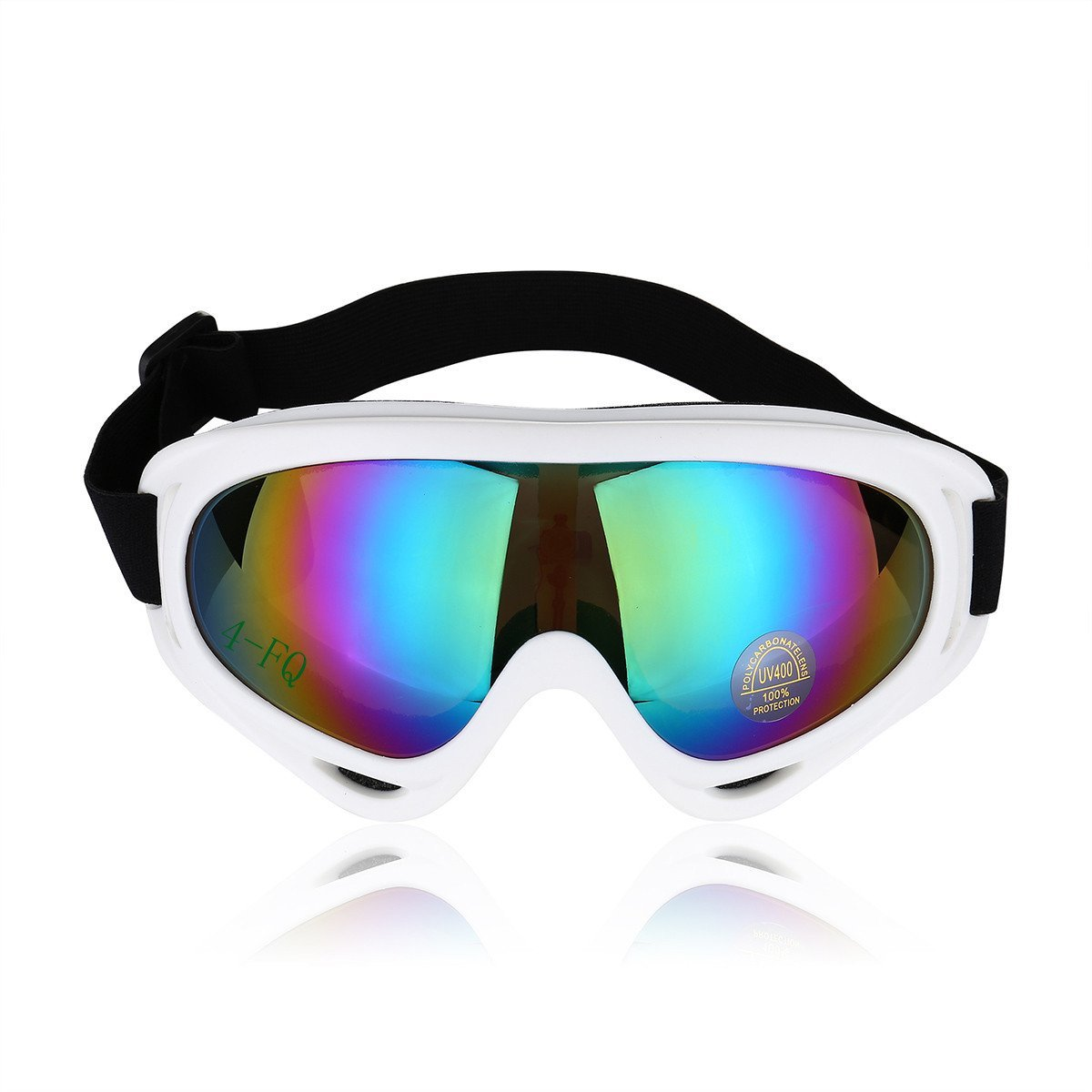 Get Quotations � 4-FQ Adjustable UV Protective Outdoor Glasses Motorcycle  Goggles Dust-proof Protective Combat Goggles