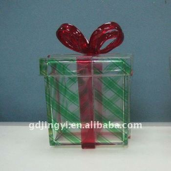 cubic plastic acrylic magnetic closure gift box buy magnetic