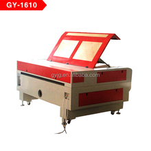 china supplier laser t-shirt printing machine GY1610 laser engraving machine CO2 laser cutting machine for T shirt