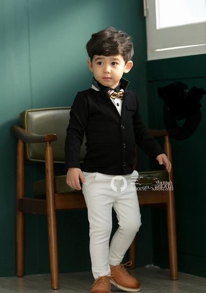 Wholesale Brand Name Children Boy's Prince Suit Coat With Kids European Style