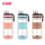 Cille 450/530/930mlCustom BPA Free Fashion Tritan Transparent Clear Plastic Sport Drinking Water Bottle With Stainless Steel Lid