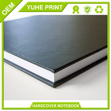 With ealstic hardcover offset printing best price papere notebook and diary printed