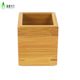 Customized Bamboo wooden pen pencil holder for car