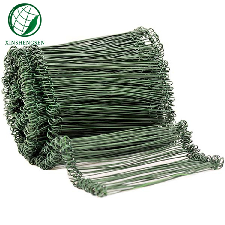 Pvc coated Double Loop Wire Tie