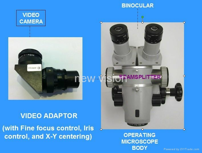 Surgery Video Recording System For Carl  Zeiss,Topcon,Inami,Takagi,Moller-wedel Operation Microscope - Buy Beam  Splitter,Video Camera Adapter,Video