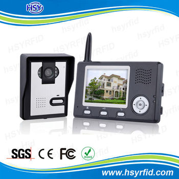 35inches Monitor Wireless Video Door Entry System For Apartment