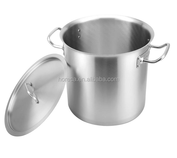 Höchste Qualität Küchewaren Edelstahl Suppe Niederdruck Kessel ...