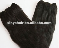 Simple design easy connect cheap virgin brazilian wavy hair