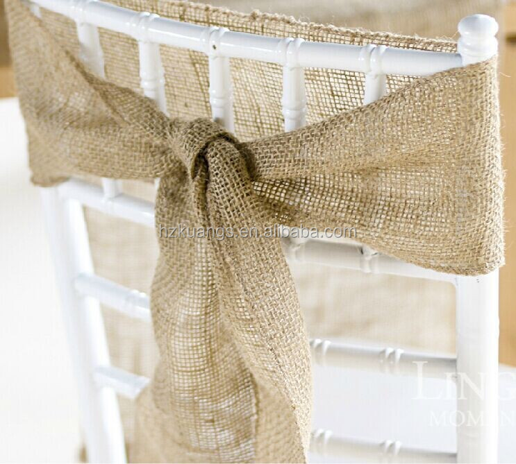 jute table runner with fringe edge nature color - Chemin De Table Color