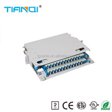 Cheap price steel ODF will fusion splicer corning fiber optic patch panel