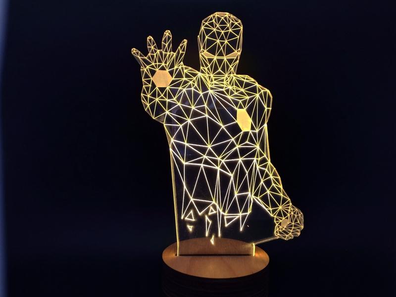 achetez en gros lampe iron man en ligne des grossistes lampe iron man chinois. Black Bedroom Furniture Sets. Home Design Ideas