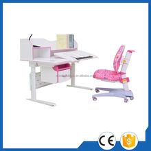 Super quality professional children writing height adjustable desk