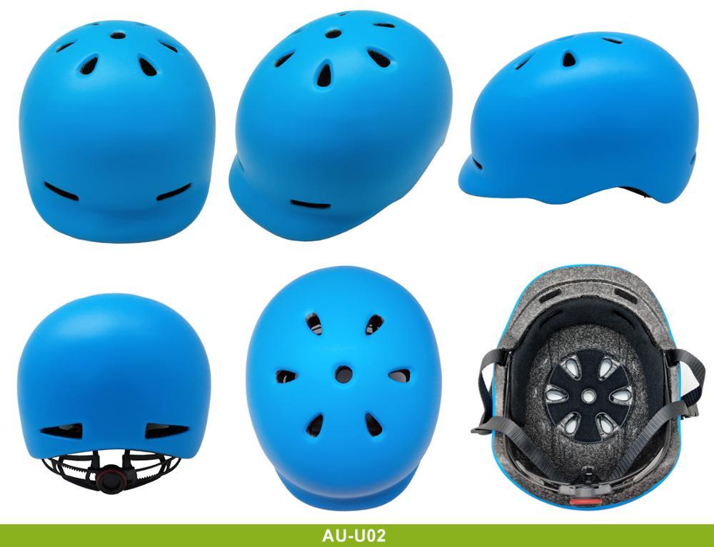 New-product-black-matte-city-bike-helmets