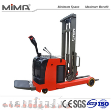warehouse equipment electric reach forklift export to America