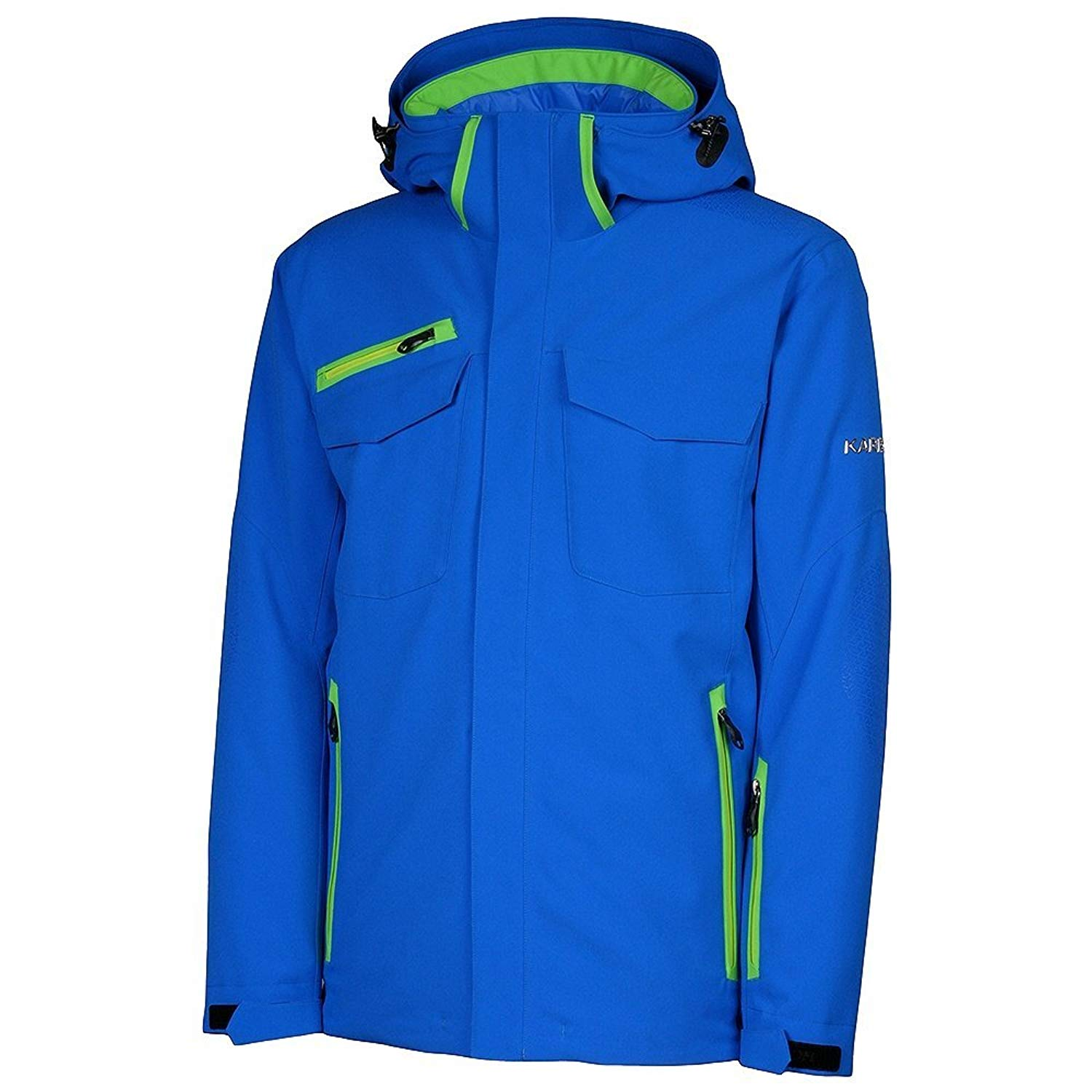 34ee4372f9 Get Quotations · KARBON Apollo Insulated Ski Jacket Mens