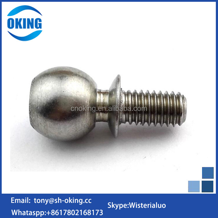 Customized stainless steel M10 M8 dome head bolts