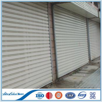 Steel Rolling Shutter Door CE Certificate | Warehouse Used Hard Steel Door