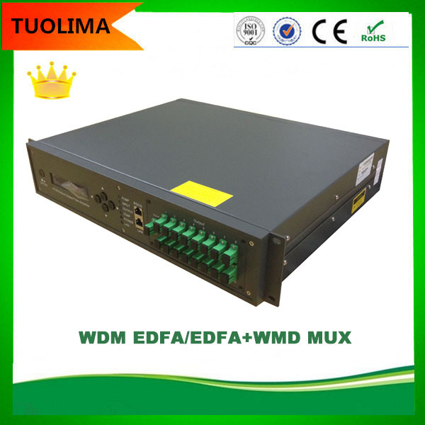 HFC CATV 1550 Optical Fiber Net Amplifier Price Outdoor Broadcasting Equipment EDFA
