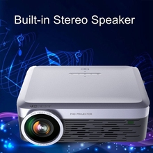 newly released native FHD LCD HDMI 3000 Lumens Full HD Projector for big home cinema
