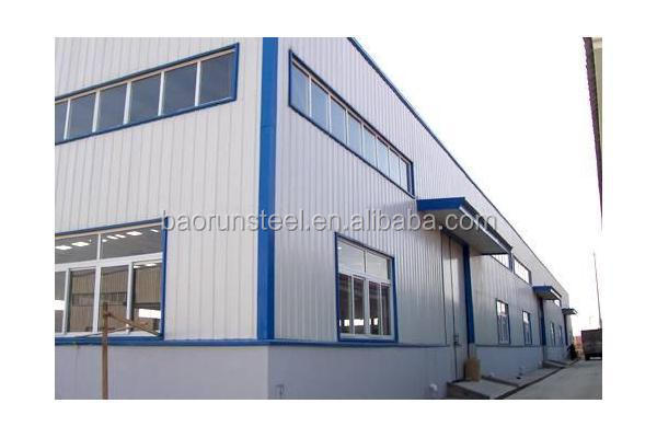 Export prebuilt industrial warehouse shed
