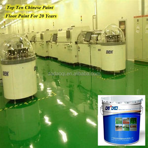 Hot sale epoxy industrial floor paint coating laboratory flooring