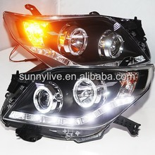 <span class=keywords><strong>Prado</strong></span> FJ150 LED Angel Eyes Farol para Toyota 2009-2013 ano LDV1