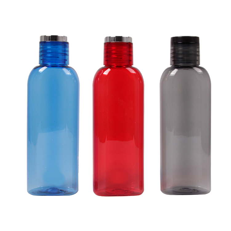 Portable transparent bpa-free plastic drinking water bottle