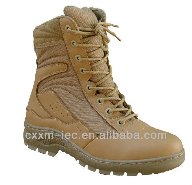Durable Top Layer Nubuck SWAT Military Desert Boots