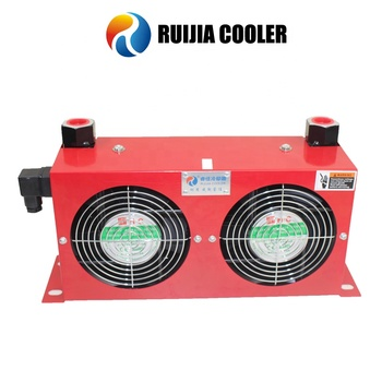 Hydraulic air-cooled oil coolers two fans heat exchanger RC-184L AH0608LT