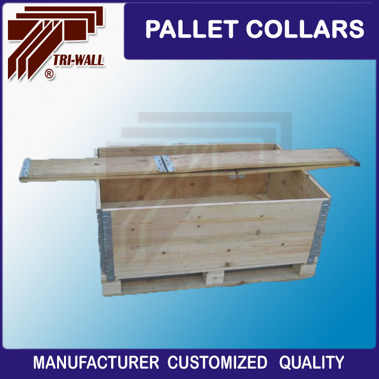 Collapsible Wooden Plywood Pallet Collars